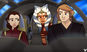 Ahsoka Tano tags along in the 'Forces of Destiny' episode, 'Unexpected Company'