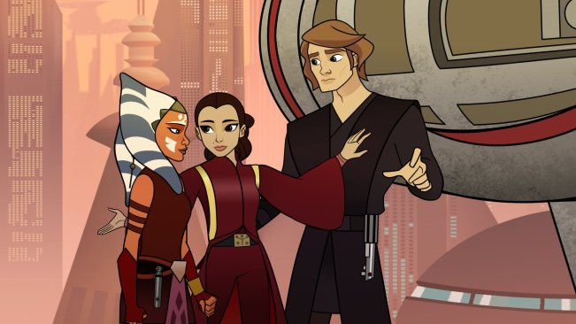 """Ahsoka joins Padmé and Anakin on a mission in """"Unexpected Company"""" (Image credit: Lucasfilm)"""