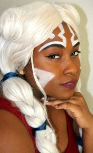 Kendra Davis (Princess Mahogany Cosplay) cosplaying as a human Ahsoka Tano