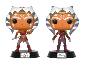 Star Wars: The Clone Wars Ahsoka Tano Funko Pop! figures
