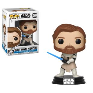 Star Wars: The Clone Wars Obi-Wan Kenobi Funko Pop! vinyl figure