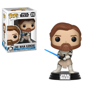 Star Wars: The Clone Wars Obi-Wan Kenobi Funko Pop! vinyl figure