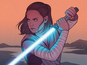 Cover art for 'Star Wars: Women of the Galaxy' by Jen Bartel