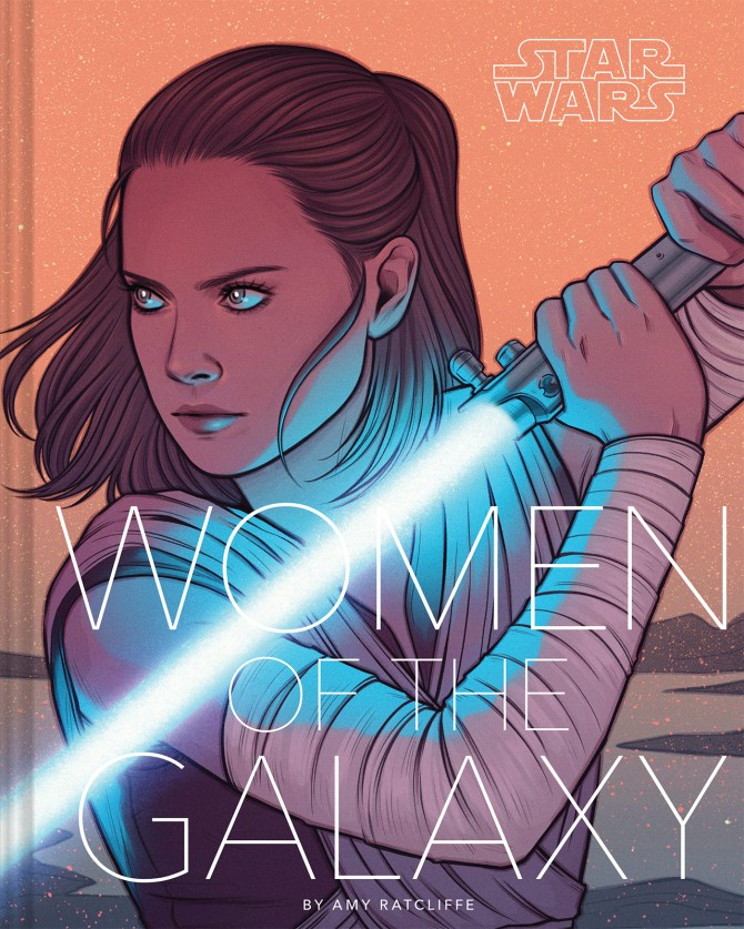 Cover art for Star Wars: Women of the Galaxy (Image credit: Jen Bartel and Chronicle Books)