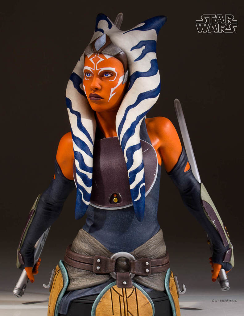 The Ahsoka Tano mini bust (Image credit: Gentle Giant Ltd.)