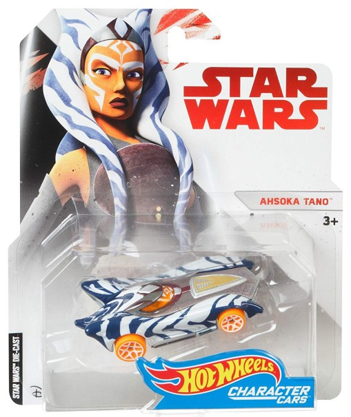 The Hot Wheels Ahsoka Tano Character Car