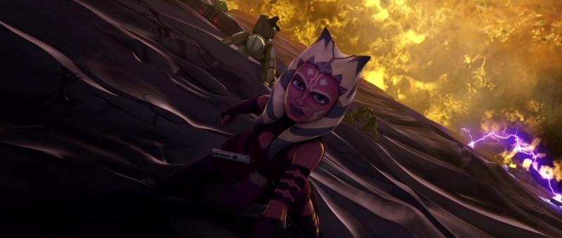 Ahsoka Tano breaking into the Citadel