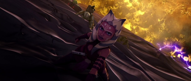 Ahsoka Tano breaking into the Citadel