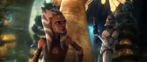 Ahsoka Tano in 'Padawan Lost'