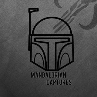 Mandalorian Captures logo