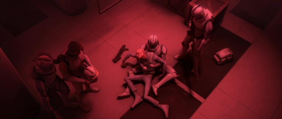 """99's heroic end in """"ARC Troopers"""""""