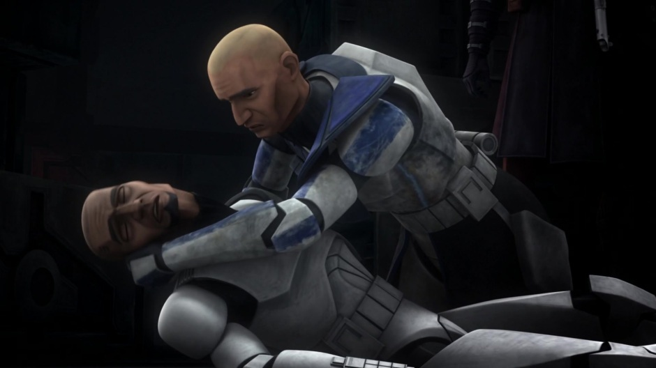 Rex mourns the death of brother-in-arms, Fives (Image credit: Cap-That)