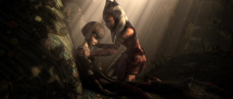 Kalifa's death in 'Padawan Lost' (Image credit: Cap-That)