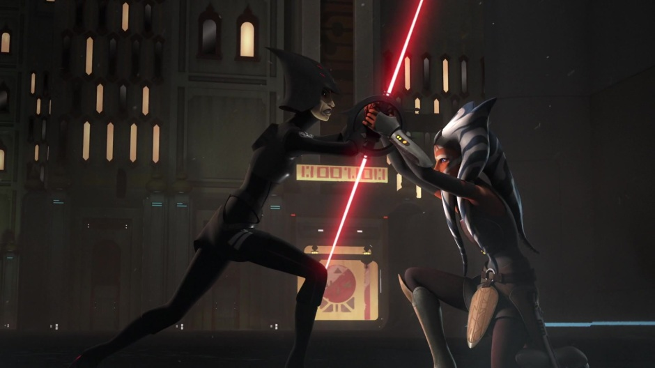Ahsoka uses a less violent tactic against Seventh Sister