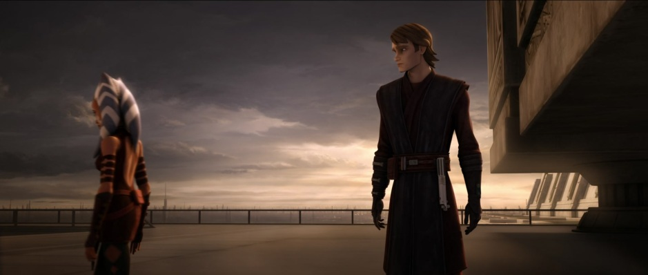 Ahsoka Tano parts ways with Anakin Skywalker in 'The Wrong Jedi'. (Image credit: Cap-That)