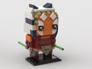 ScoutTheTrooper's Ahsoka Tano BrickHeadz design
