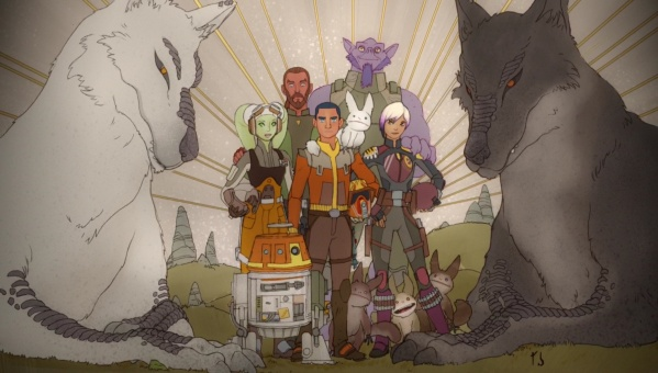 Star Wars Rebels epilogue mural