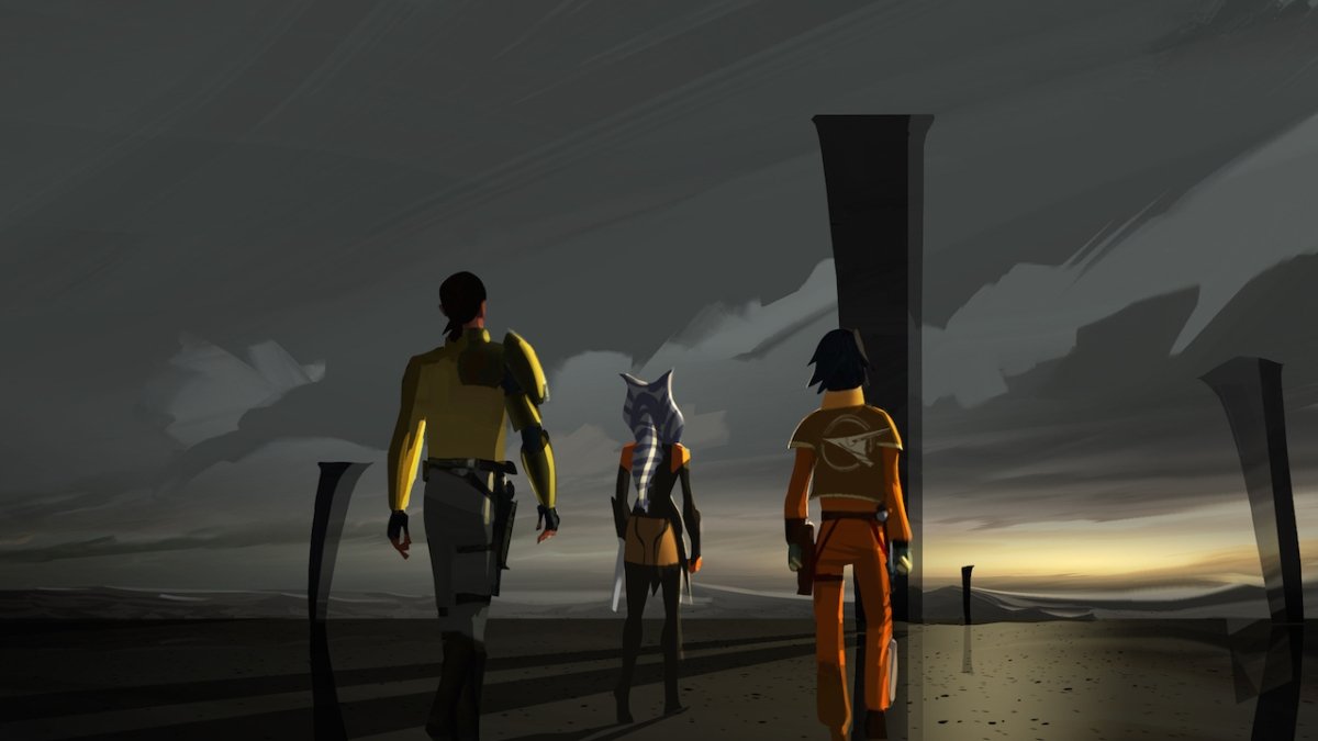 Dark Horse to Publish 'The Art of Star Wars Rebels' Art Book
