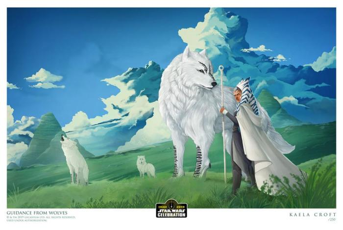 """""""Guidance From Wolves"""" by Kaela Croft"""