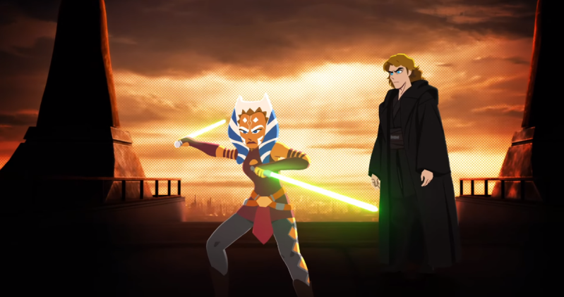 Ahsoka Tano in Galaxy of Adventures
