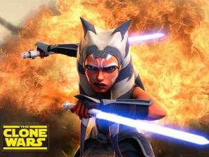Ahsoka Tano poster for Clone Wars season 7