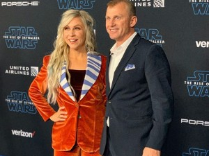Ashley Eckstein's Ahsoka-inspired suit