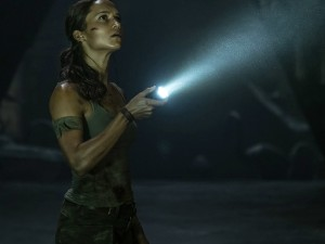 Alicia Vikander in 'Tomb Raider' (2018)
