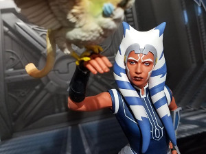 Gentle Giant's Ahsoka Tano Premier Collection statue