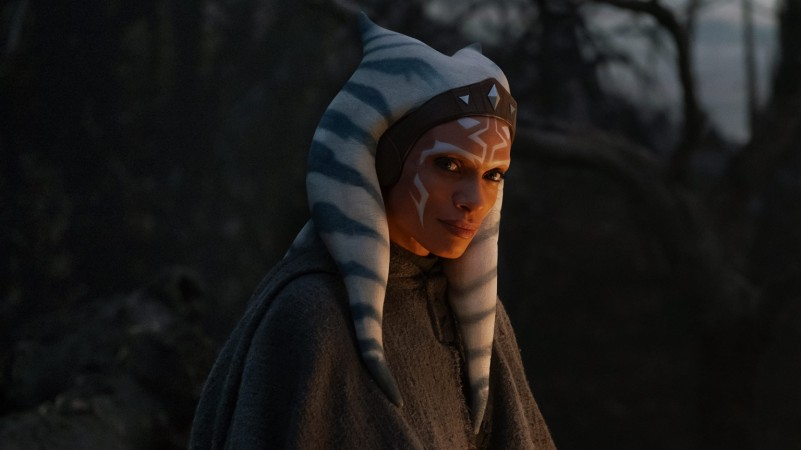 Rosario Dawson as Ahsoka Tano in 'The Mandalorian'