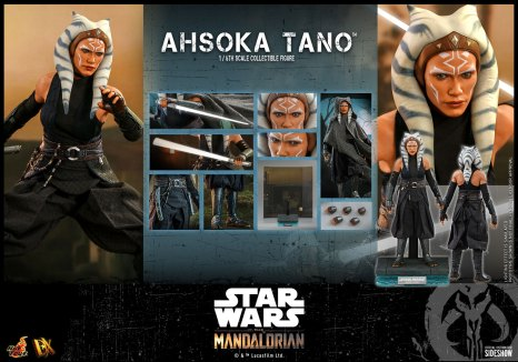 The Mandalorian Ahsoka Tano sixth scale collectible figure