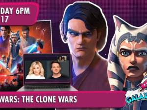 Star Wars: The Clone Wars Q&A for Galaxycon with Ashley Eckstein and Matt Lanter