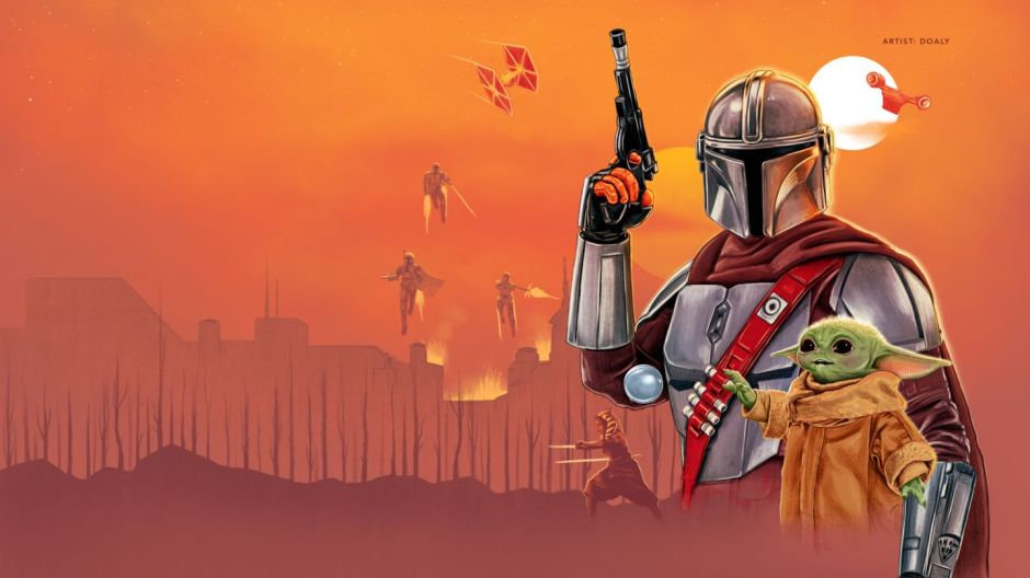 """Disney Plus """"May the 4th"""" The Mandalorian landing page by Doaly"""