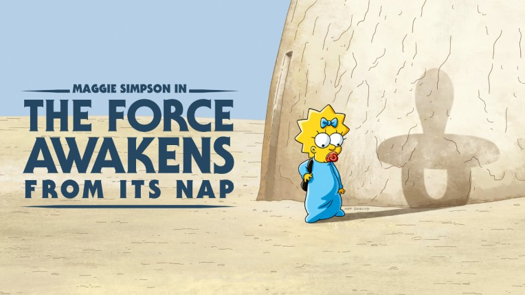 """Artwork for Maggie Simpson in """"The Force Awakens From Its Nap"""""""