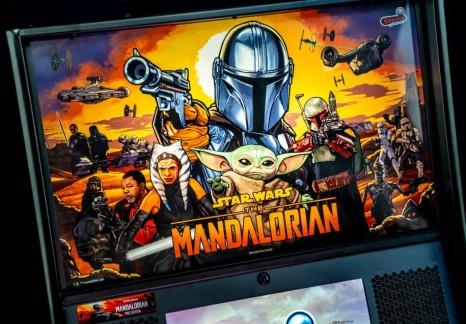 Stern Pinball's Mandalorian pinball machine