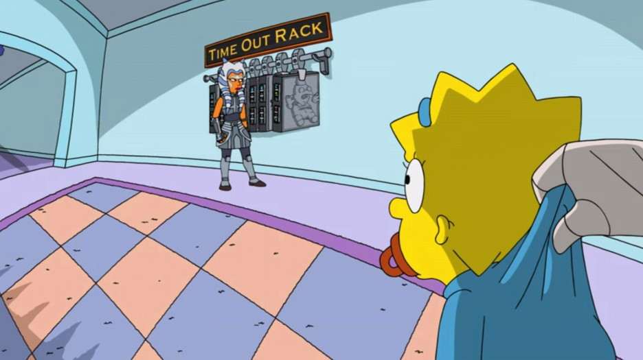 """Ahsoka Tano in """"Maggie Simpson in 'The Force Awakens From Its Nap'"""""""